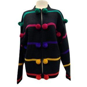 Vintage 80's Doncaster Sweater Cardigan